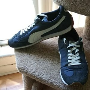 Men's Puma Whirlwind suede & leather sz 10.5